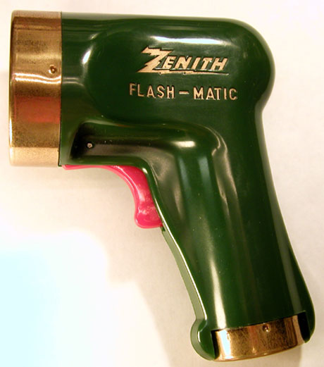 Flash-Matic Flash Gun Remote Control, Zenith c. 1955